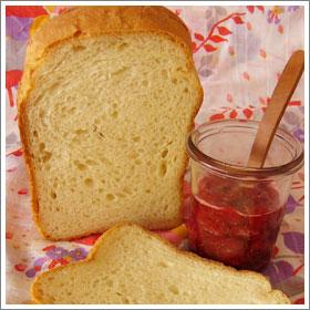 岩手南部小麦のミルク食パンのレシピ