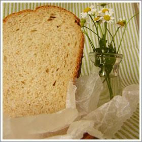 全粒粉とパルミジャーノのパンのレシピ