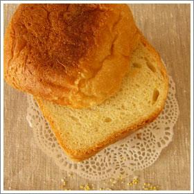 国産小麦と岩手県産雑穀パンのレシピ