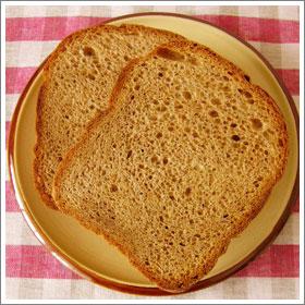全粒粉のパンのレシピ
